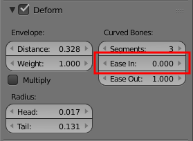 Blender Bones Deform Ease In