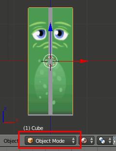 Blender mark Object