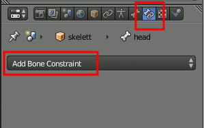 Blender Add Bone Constraint
