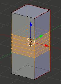 Blender Loop Cuts